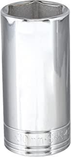 product image for SK Professional Tools 40030 1/2 in. Drive 6-Point Metric Deep Chrome Socket - 30 mm, Cold Forged Steel Socket with SuperKrome Finish, Made in USA