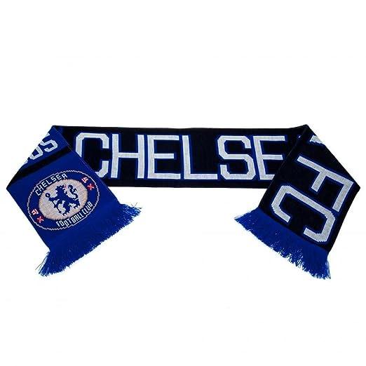 Chelsea FC bufanda bufanda bufanda de fútbol Fan Artículo  Amazon.es   Deportes y aire libre 2722e342b2e