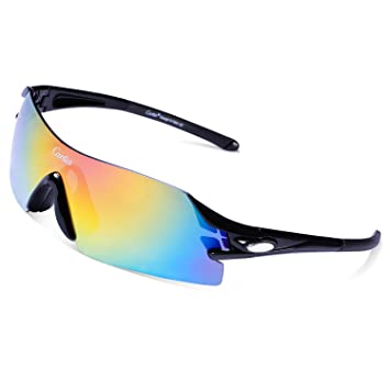 545ddf866c0 Carfia Cycling Glasses Polarized Sports Sunglasses UV400 Protection Eyewear  for Men Women Riding Driving Fishing Running