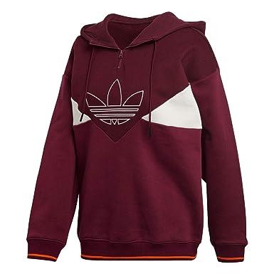 adidas Originals Damen Hoodies Clrdo Og rot 32: