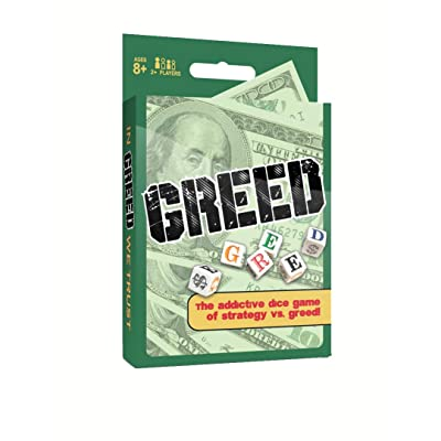 Greed Dice Game: Toys & Games