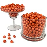 Color It Candy Shimmer Orange Sixlets 2 Lb Bag - Perfect For Table Centerpieces, Weddings, Birthdays, Candy Buffets, & Party