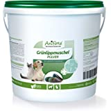 AniForte Grünlippmuschel-Pulver 1 kg - versch. Größen - Naturprodukt für Hunde und Katzen