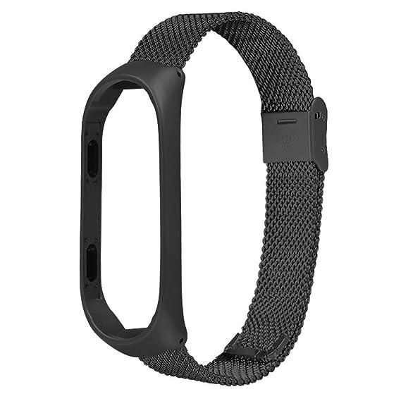 Baiomawzh Correas para Relojes Compatible con Xiaomi Mi Band ...