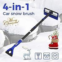 Cepillo de Nieve para Coche, 4 en 1