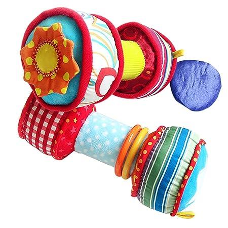 Toy supplies Juguete de sonajero para bebés, Jirafa con Mancuernas ...