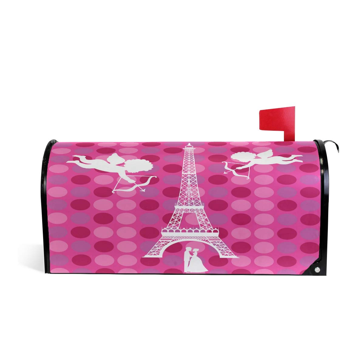 Angle Paris Power Magnetic Mailbox Cover Mail Wraps Letter Box Covers