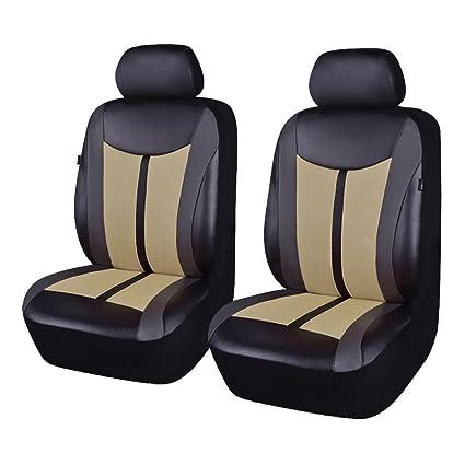 Flying pancarta sintética y malla transpirable Universal coche conjuntos de fundas de asiento con airbag Compatible