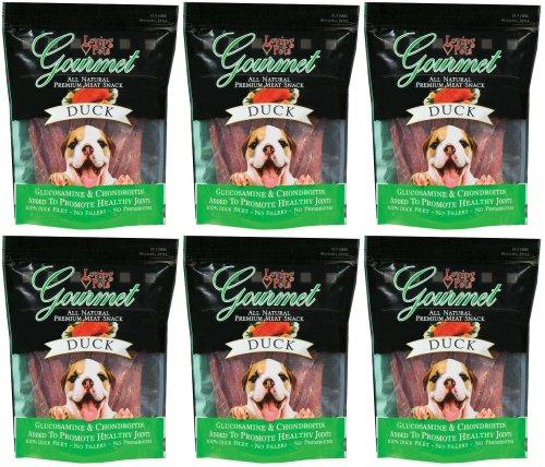Loving Pets Gourmet All Natural Premium Duck Jerky Filet Strips 4.5Lb (6 x (Duck Fillets)
