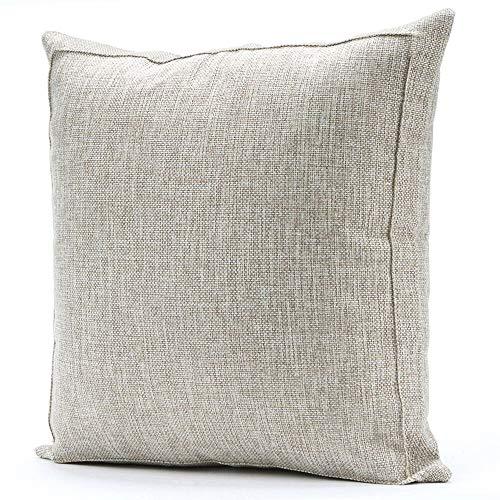 throw pillow case linen burlap