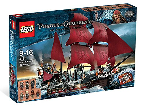 LEGO Queen Anne's Revenge 4195 (Discontinued by manufacturer) ()