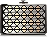 Vince Camuto Fit Minaudiere, Black