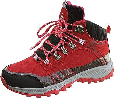 Insun Mujer Zapatos de Senderismo Zapatillas de Escalada ...