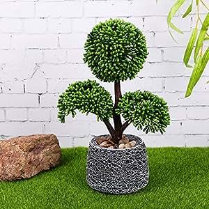 Plant simulation trigeminal eyebright plastic home living room decorative pot ornaments , 1
