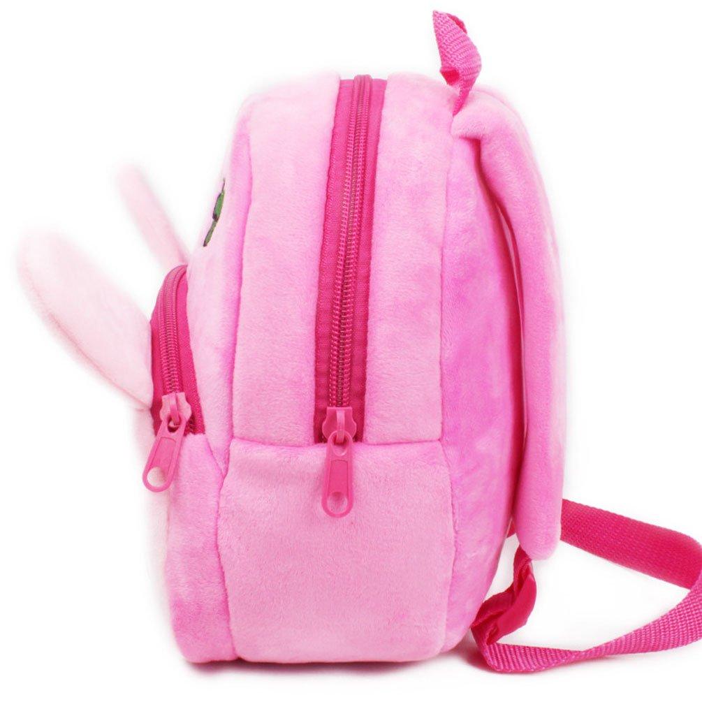 29b551c69b Amazon.com   Baby Girl Toddler Rabbit Backpack Rucksack