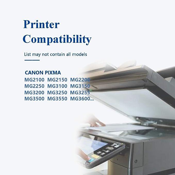 Caidi PG-540 CL-541 Cartuchos de Tinta para Canon Pixma MX475 ...