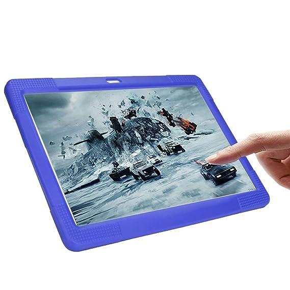 e2491d12203 NIUQY Funda de silicona universal portátil adecuada para 10 10.1 pulgadas  Tablet PC Android Personalizado Compatible