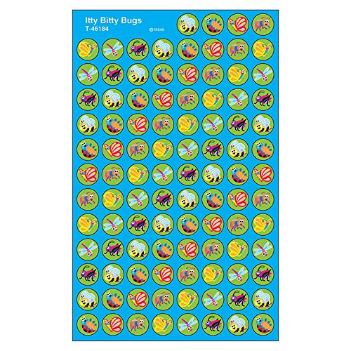 TREND enterprises, Inc. Itty Bitty Bugs superSpots Stickers, 800 ct ()