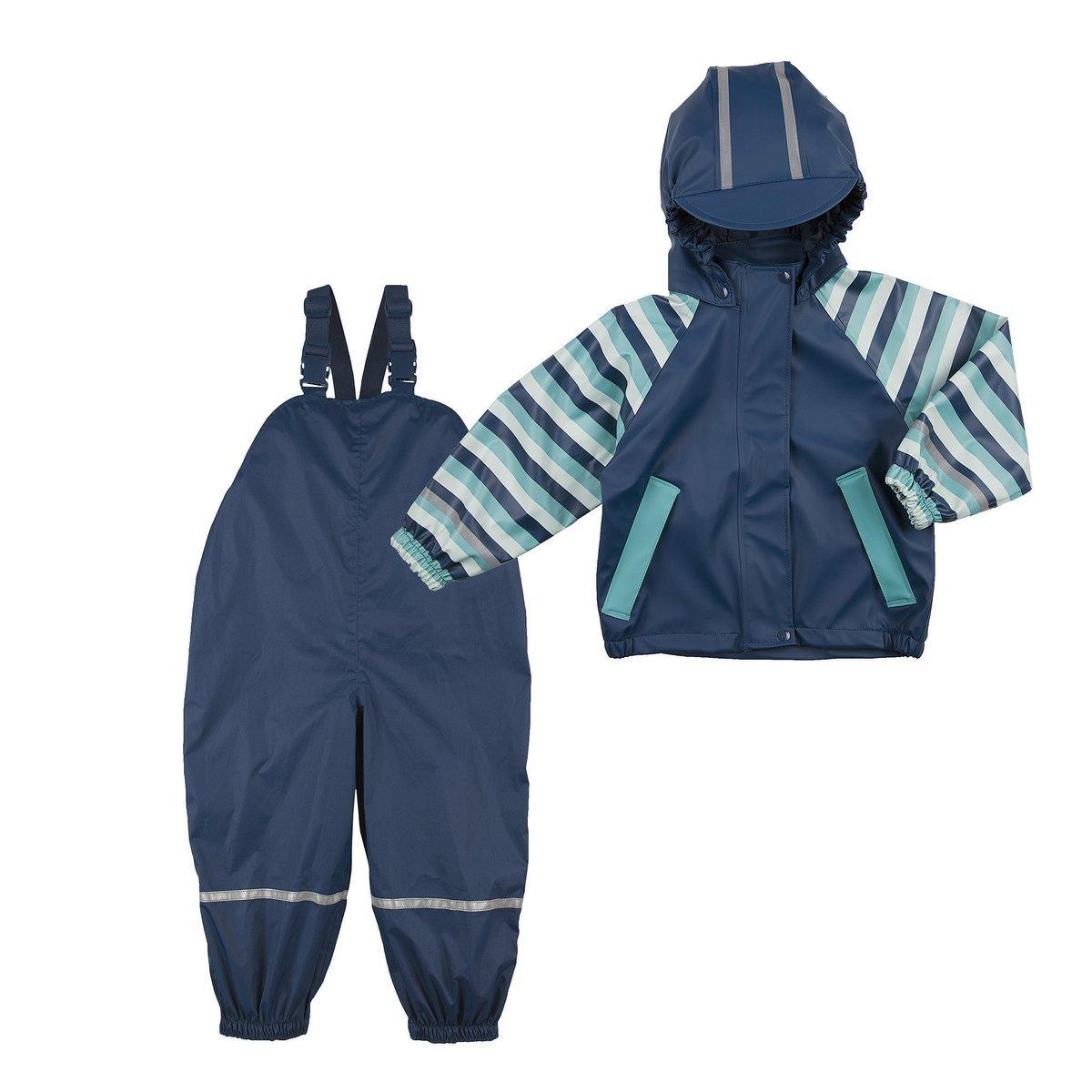 Bornino L'ensemble veste de pluie et salopette de pluie légère tenue de pluie bébé