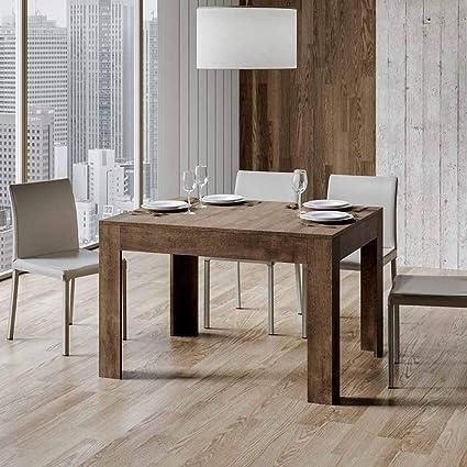 Itamoby Tavolo Bibi 90x120 Noce Allungabile A 180 Cm Amazon It Casa E Cucina