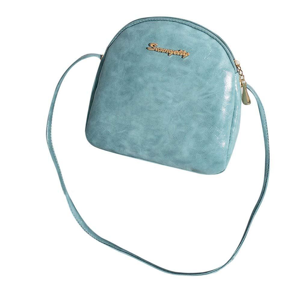 NRUTUP Vintage Lady Party Wallet Messenger Shoulder Messenger Bag Casual Mini Candy Bag(19X5X18cm,Blue)
