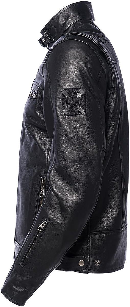 Size:S Color Black West Coast Choppers Jacket CFL Riding