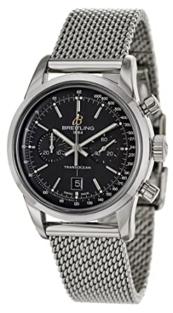 bf83c769d0e Image Unavailable. Image not available for. Color: Breitling Transocean  Chronograph 38 Mens Watch ...