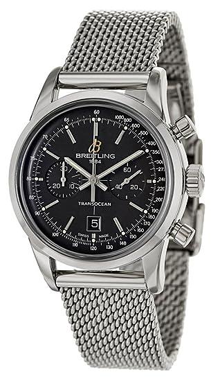 Breitling Transocean Chronograph 38 Mens Watch A4131012/BC06