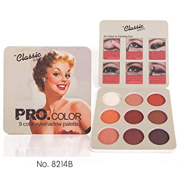 Beauty & Health Beauty Essentials Matte Eye Shadow Palette Makeup Shimmer Pigment Waterproof Mineral Balm Shade Nude Cosmetic Professional Eyeshadow Pallete