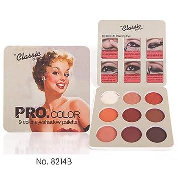 Matte Eye Shadow Palette Makeup Shimmer Pigment Waterproof Mineral Balm Shade Nude Cosmetic Professional Eyeshadow Pallete Eye Shadow