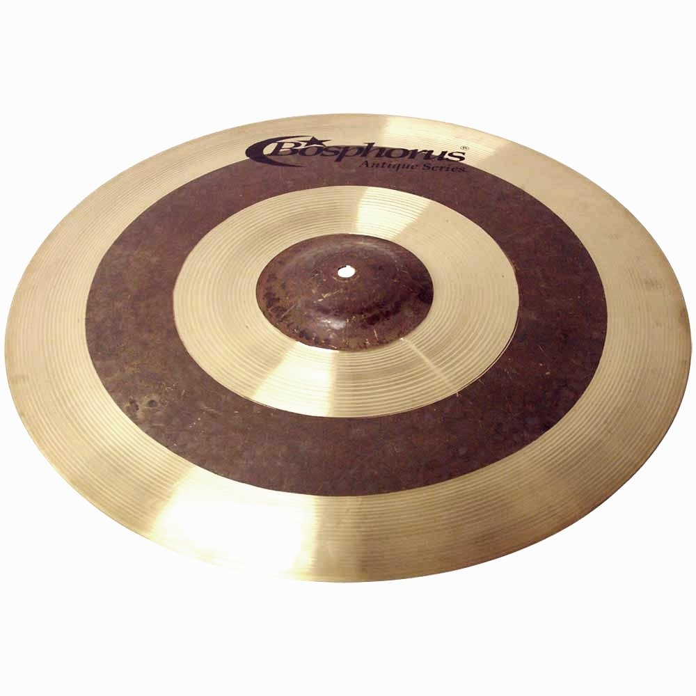 Bosphorus Cymbals A18CR 18-Inch Antique Series Jazz Crash Ride Cymbal by Bosphorus Cymbals