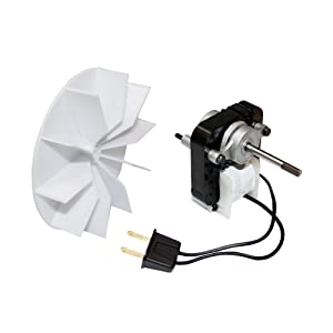 Endurance Pro 97012038 Replacement for Broan Ventilation Fan Motor & Blower Wheel, White