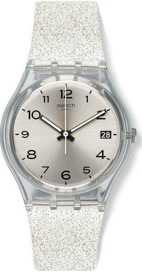 Swatch Reloj Digital para Mujer de Cuarzo con Correa en...