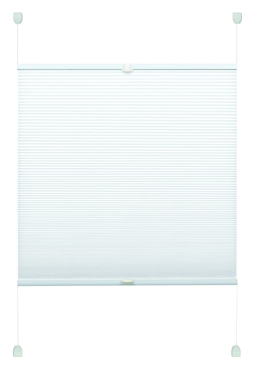 Gardinia Tenda Plissettata, Poliestere, Bianco, 50 x 130 cm 33859