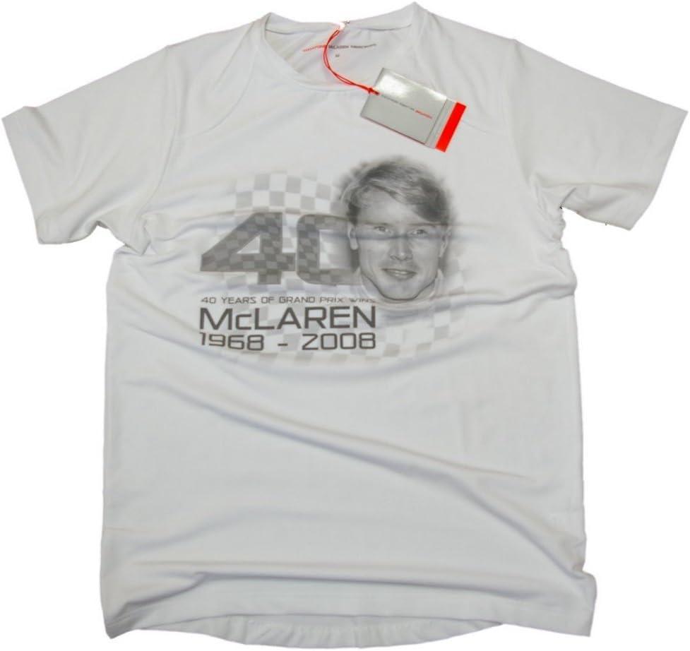 Camiseta: fórmula 1 McLaren un 40 F1 NEW ¡Hakkinen S: Amazon.es ...
