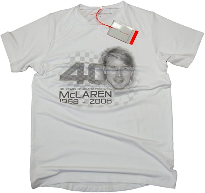 Camiseta: fórmula 1 McLaren un 40 F1 NEW ¡Hakkinen S: Amazon.es: Deportes y aire libre