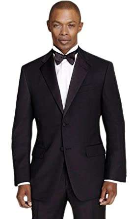 a42c1d29b04a Calvin Klein Men s Black Slim Fit Tuxedo at Amazon Men s Clothing store
