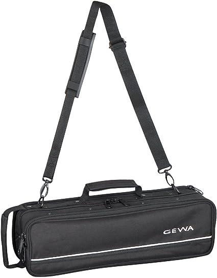 GEWA 708100 - Estuche para flauta, ligero, color negro: Amazon.es: Instrumentos musicales