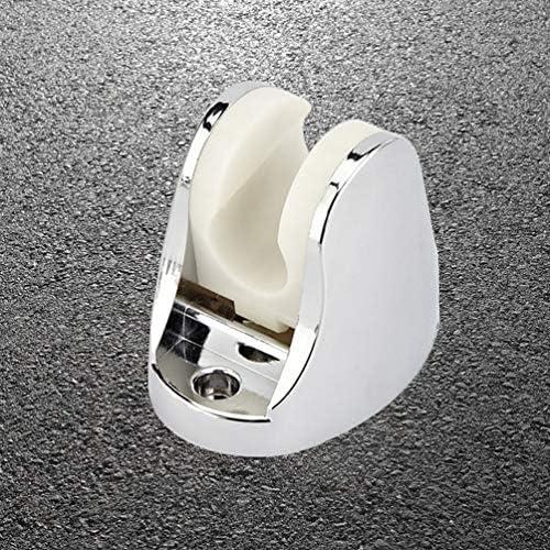 Cabilock Soporte de ducha de mano de 1 pieza Soporte de ducha de vac/ío ajustable ajustable reutilizable Soporte de ducha de montaje en pared Soporte de rociador de cabezal de ducha