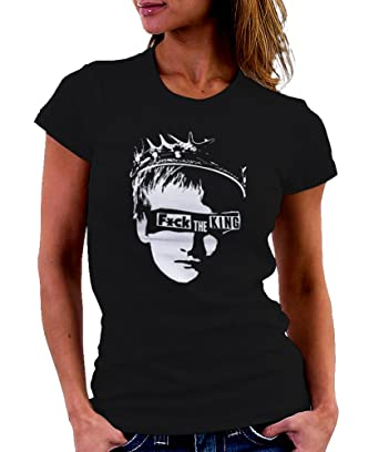 b254d36d LeRage Shirts Women's Fuck The King | Game Of Thrones T-Shirt Black Small