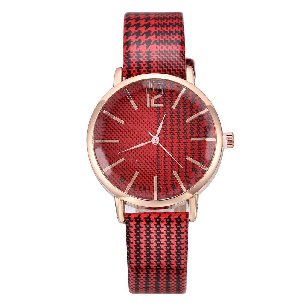 Reloj Mujer Moda Vintage Señoras Reloj De Cuarzo Salvaje ...