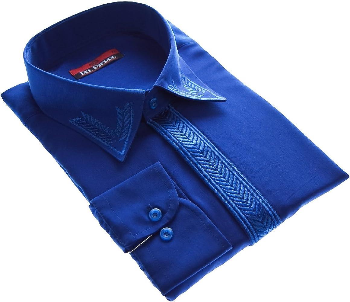 Camisa para hombre de Diseño sin punto de new Kent cuello camisa para hombre de manga larga cuello Kent varios colores: Amazon.es: Ropa y accesorios