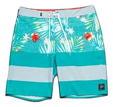 42f504e4eaf90 Vans ERA Floral Men's Board Shorts (26 (12 Big Kids)) | Amazon.com