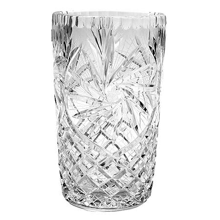 Crystal Vase Pinwheel 875 Inches Amazon Kitchen Home