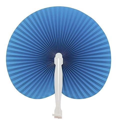 70 pezzi colore VERDI ventagli ventaglio da borsetta matrimonio segnaposto bomboniera wedding manico in plastica e chiusura a gancio