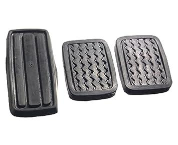 Ihave Set embrague freno acelerador Pedal Pad Fit para Datsun 620 pastilla camión UTE
