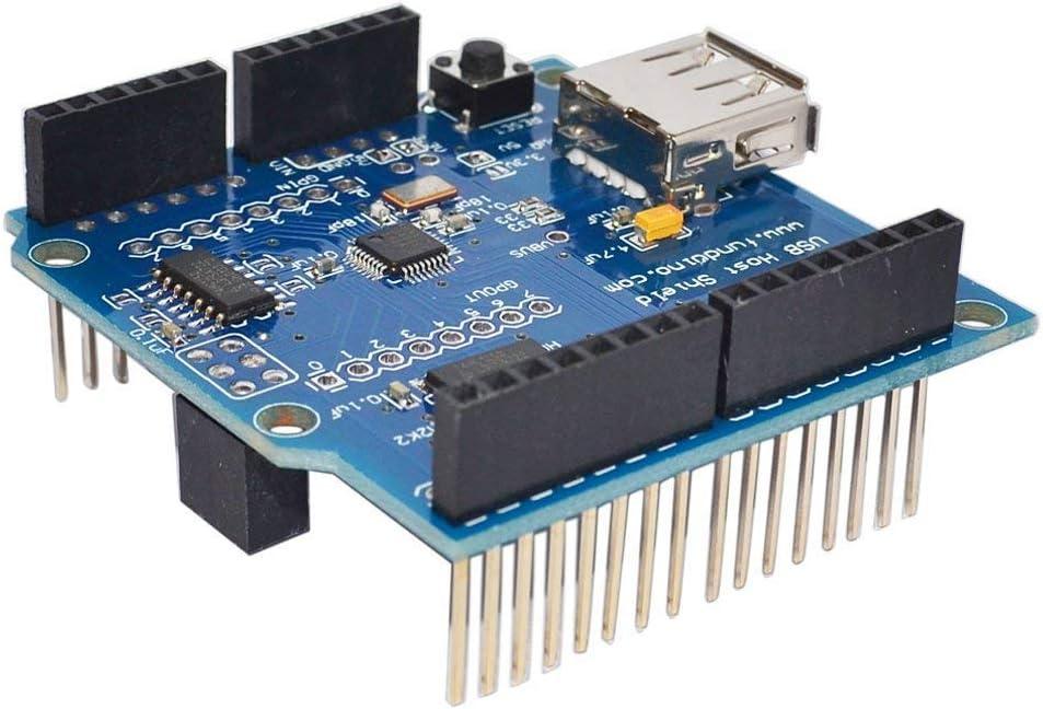 ARCELI USB Host Shield for Arduino UNO MEGA 2560 Support Google Android ADK USB HUB