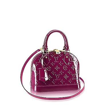 66aff5f88f Amazon.com  Louis Vuitton Monogram Vernis Leather ALMA BB Cross-Body ...