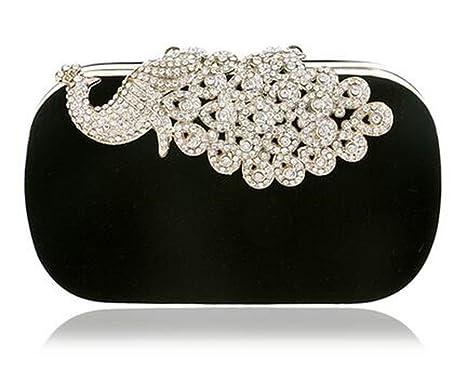b12da97605 WANHUIBAO Clutch Evening Bags Crown Rhinestones Evening Bags Purse Shoulder  Bag For Wedding Diamonds Lady Purse
