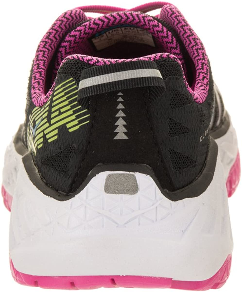 Hoke One One Womens Clayton 2 - Black/Fuchsia/Green Glow - 5: Amazon.es: Zapatos y complementos